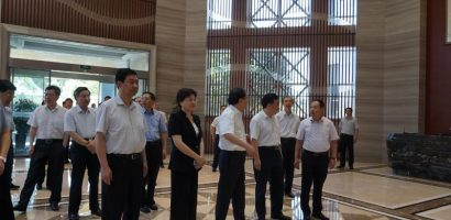 Nantong government delegation visited Wuxi Lead