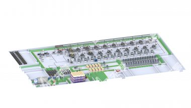 Fuel Cell System Assembly Line