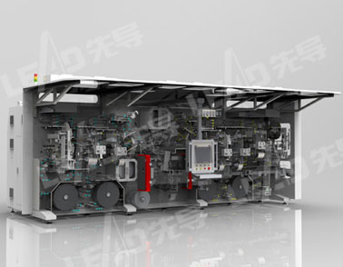 Digital Cell Integrated Welding and Winding Machine